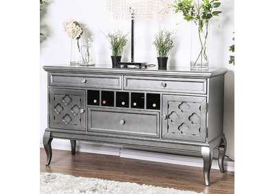 Amina Gray Server,Furniture of America