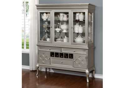 Image for Amina Champagne Hutch & Buffet