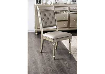 Xandra Side Chair (Set of 2),Furniture of America
