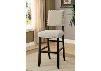 Image for Sania II Antique Black Bar Chair (Set of 2)