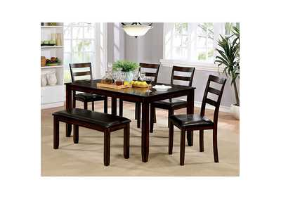 Image for Gloria 6 Piece Dining Table Set