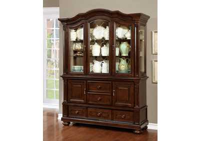 Image for Alpena Brown Cherry Hutch & Buffet