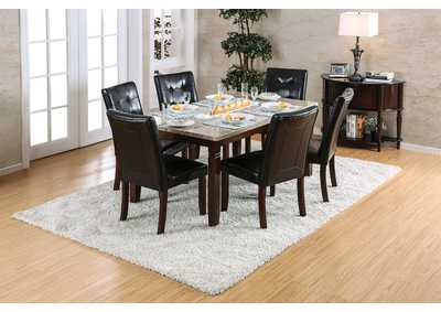 Image for Marstone Brown Cherry Dining Table