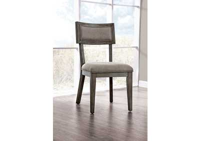 Leeds Gray Side Chair [Set of 2]