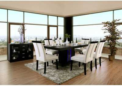 Evangeline Black Dining Table