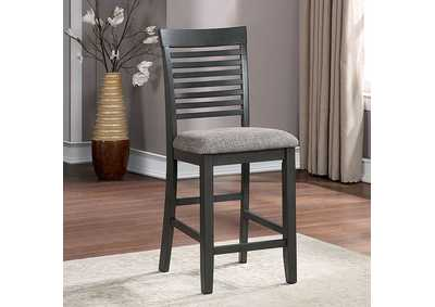 Image for Amalia Gray Counter Height Chair [Set of 2]