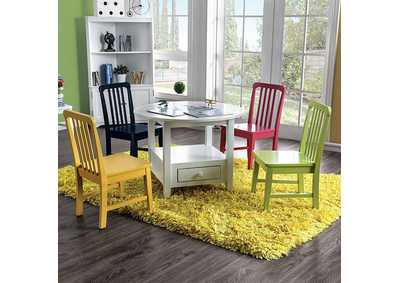 Image for Casey White Kids Table Set