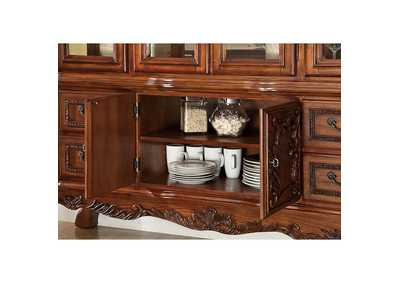 Medieve Antique Oak Hutch Buffet,Furniture of America