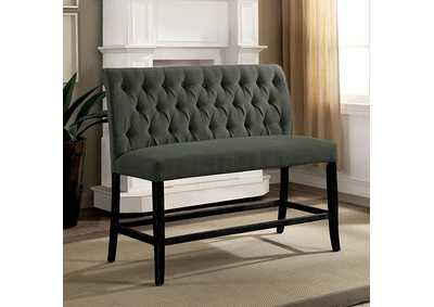 Izzy Gray Counter Bench,Furniture of America