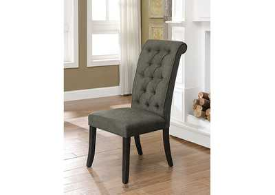 Sania III Gray Side Chair (Set of 2),Furniture of America