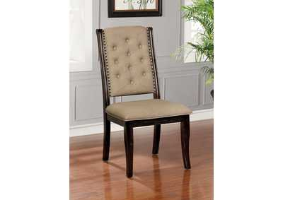 Patience Dark Walnut Side Chair [Set of 2]