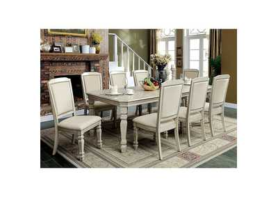 Holcroft Antique White Dining Table