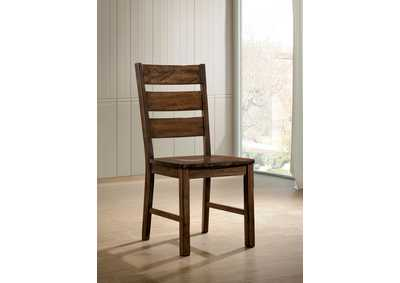 Dulce Walnut Side Chair [Set of 2],Furniture of America