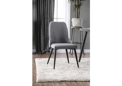 Vilhelm Gray Side Chair [Set of 2]