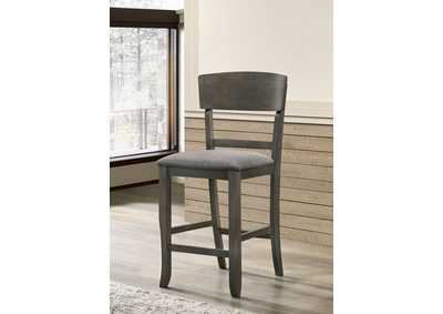 Image for Stacie Gray Counter Height Chair [Set of 2]