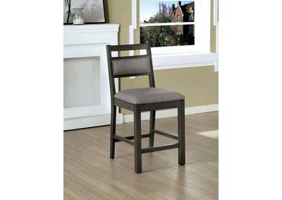 Image for Vicky Gray Counter Height Chair [Set of 2]