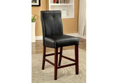 Image for Bonneville II Brown Cherry Counter Height Chair (Set of 2)