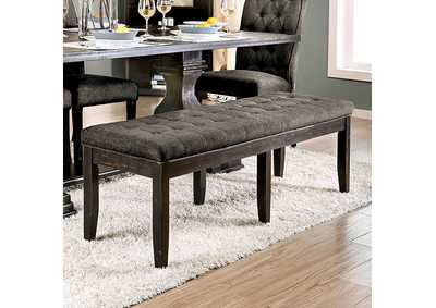 Nerissa Gray Upholstered Bench