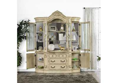 Image for Tuscany Antique White Hutch Buffet