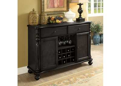 Siobhan II Dark Gray Server,Furniture of America