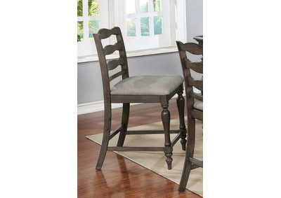Image for Theresa Gray Counter Height Chair [Set of 2]