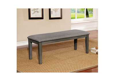 Hillsview Gray Bench,Furniture of America