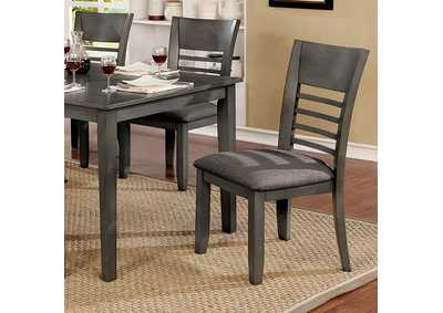 Hillsview Gray Side Chair [Set of 2]