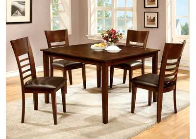 Hillsview I Brown 5 Piece. Dining Set,Furniture of America