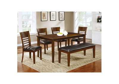 Hillsview I Brown Dining Bench,Furniture of America