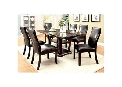 Clayton l Dining Table w/Faux Marble Top