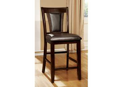 Image for Brent II Dark Cherry Counter Chair (Set of 2)