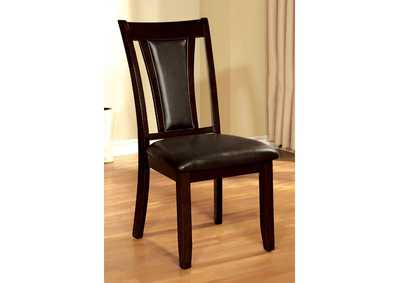 Image for Brent Cherry & Brown Side Chair (Set of 2)