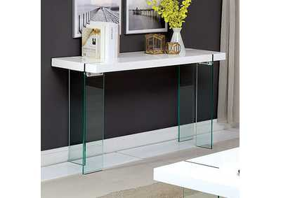 Image for Thorold White Sofa Table
