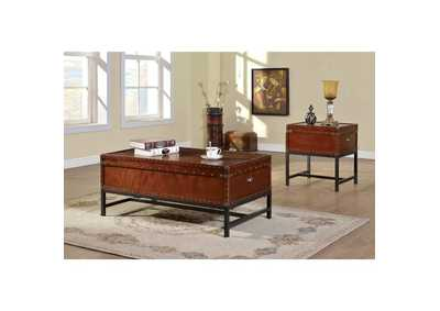 Image for Milbank Cherry Coffee Table w/Storage