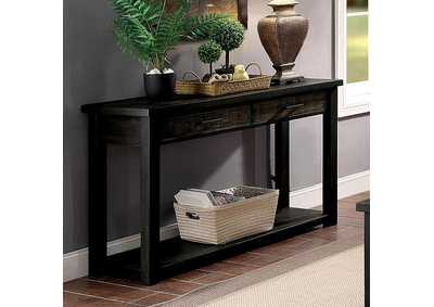 Rhymney Brown Console Table