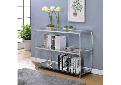 Ludvig Chrome Sofa Table
