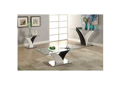 Image for Sloane White End Table