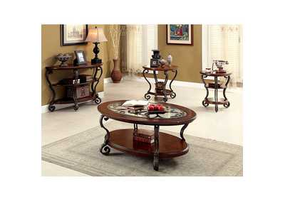 Image for May Brown Cherry Coffee Table