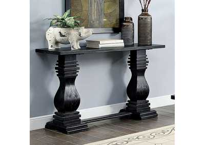 Mirabel Black Console Table
