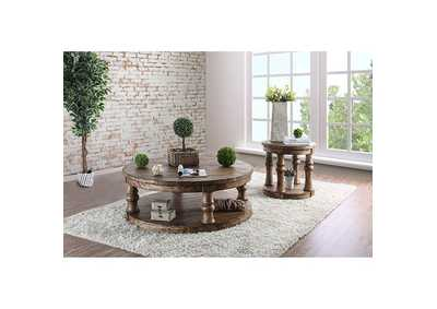 Image for Mika Antique Oak Coffee Table