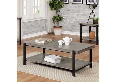 Huckleberry Gray Wash Coffee Table