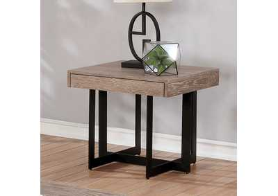 Sawyer Gray Wash End Table
