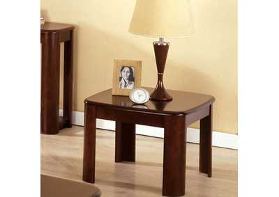 North Bay Dark Walnut End Table