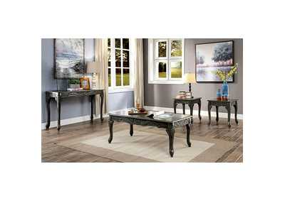 Cheshire Gray 3 Piece Occasional Table Set,Furniture of America
