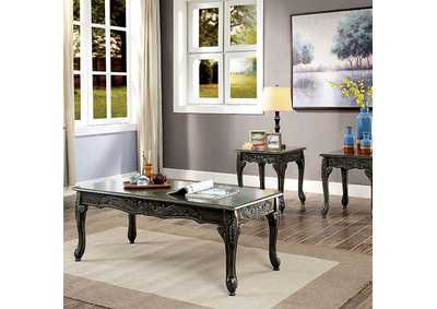 Cheshire Gray 3 Piece Table Set