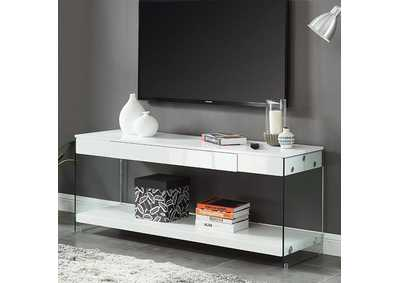 "Sabugal White 70"" TV Stand"