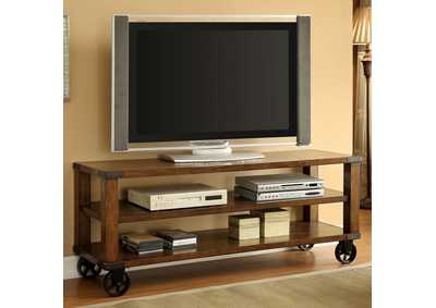 "Image for Broadus ll Dark Oak 60"" TV Console"