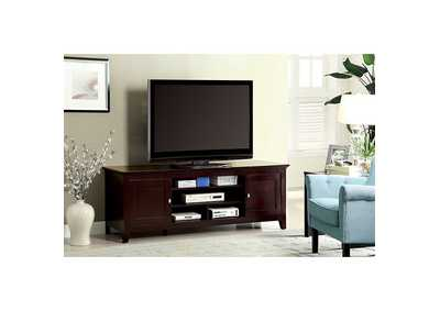 Image for Maris Dark Cherry 72' TV Stand