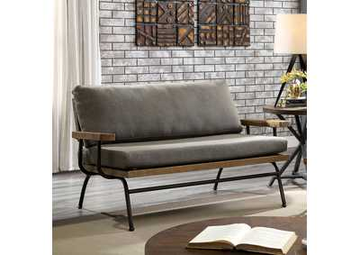 Image for Santiago Brown Loveseat