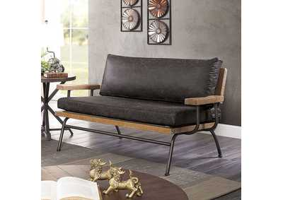 Image for Santiago Dark Gray Loveseat